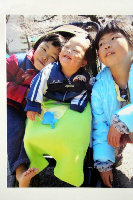 障害の有る子供とその家族の写真展