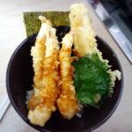 くら寿司の天丼